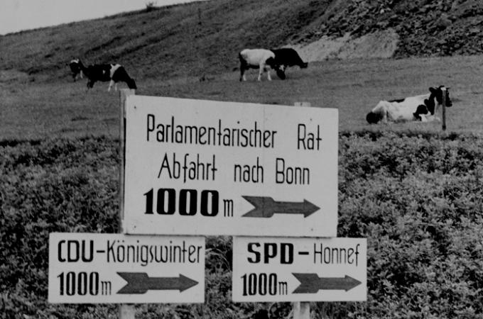 01.09.1948: Eröffnung des Parlamentarischen Rats